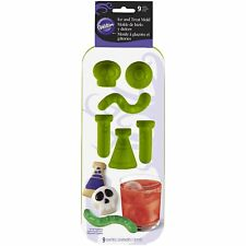 Wilton Holiday Party Halloween 9 Cavity Silicone Ice Cube Tray Mold Drink Maker