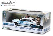 2010 Chevrolet Impala Police Cruiser NYPD Blue Bloods Greenlight 1/43 HTF
