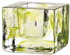 Kosta Boda Brick Votive Holder Lime