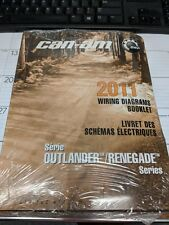 BRP CAN-AM ATV 2011 OUTLANDER/RENEGADE WIRING DIAGRAM BOOKLET P/N 219100474