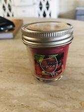 Bath And Body Works Sundrenched Vineyard Mason Jar Mini Candle RARE