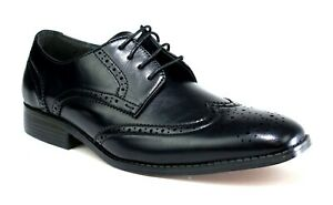 Mens New Brogues Casual Lace Up Smart Formal Office Work Shoes UK SIZE 6-11