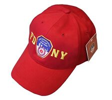 FDNY INFANT BABY Baseball Hat Fire Department New York Red One Size Boys Girls