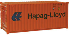 Walthers HO Scale 20' Corrugated Shipping Intermodal Container Hapag-Lloyd