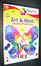 Brand new Baby First Art & Music Sensory Wonderland toddler educational Dvd