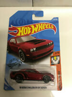 2019 Hot Wheels Muscle Mania 2/10 2018 Dodge Challenger SRT DEMON Burgundy NIP