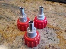 Coke Bib Connectors-metal-Lot of 3