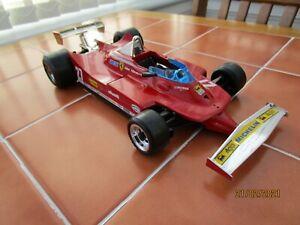 Burago 2108 Ferrari 312T5 F1 car 1/14 scale diecast model Gilles Villeneuve