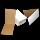 "50 Protective 3"" x 4.5"" Cardboard Flat Folders / Sleeves"