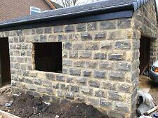 **NEW** 140mm Blackened Yorkshire Stone Walling