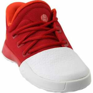 adidas Harden Vol. 1 Lace Up  Infant Boys  Sneakers Shoes Casual   - Red - Size