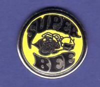 SUPER BEE HAT PIN LAPEL PIN TIE TAC ENAMEL BADGE #0163