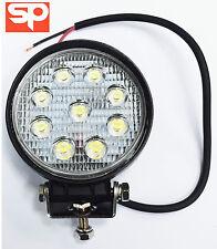 11cm LED Work Lamp / Work Light 27w SLIMLINE FLOOD 12V FOR Land Rover Defender