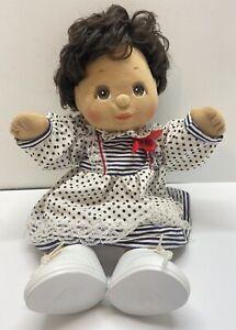 1985 Vintage Hispanic Boy MY CHILD BABY DOLL MATTEL BROWN HAIR & EYES