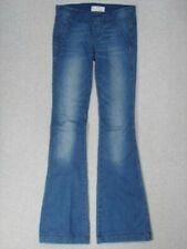 SE07460 **FREE PEOPLE** FLARE WOMENS JEANS sz26; NICE JEANS!