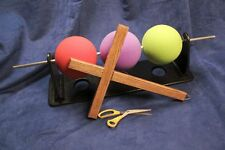 Stage Magic Trick Andre Kole Three Ball Gospel Illustration