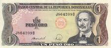 Billet banque dominicana REPUBLIQUE DOMINICAINE 1 peso 1988 état voir scan 209
