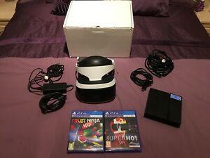 Sony PlayStation VR Headset Bundle Plus 2 Games