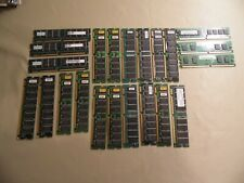 Lot of 20+ Computer RAM - SDRAM / Used / See Pictures / Free Domestic Shipping