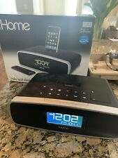 iHome Speakers iP90BZ (black) In Box - Can Play Radio Or Be Used With Aux Cable
