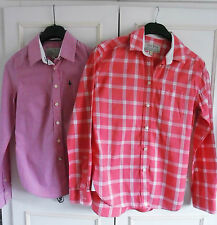 Women's Check Collared Tops & Shirts ,Multipack