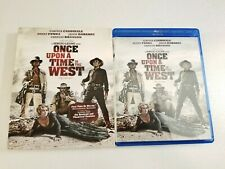 Once Upon A Time In The West (Blu-ray, 2011) w/ Oop Rare Slipcover. Sergio Leone