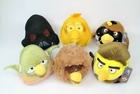 ~~6x ANGRY BIRDS STAR WARS SOFT PLUSH TOYS BUNDLE (8-10'')