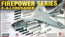 "F-8J CRUSADER ""Fire Power Series"" 1/48 Scale Lindberg Model #72523  1765"