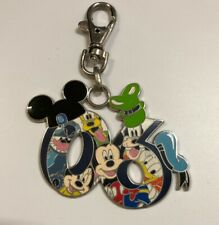 Disney 2006 Collection Lanyard Medallion Medal Clip Mickey Minnie Stitch