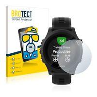 Garmin Forerunner 935 , 2x BROTECT® Matte Screen Protector anti-glare hardcoated