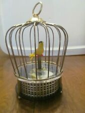 Mechanical Singing Moving Bird Cage By Waco Tokyo Pidgeon Works Musical