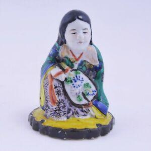 Old Japanese,Kutani porcelain figure,19thC