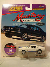 FORD MUSTANG 1967 SHELBY JOHNNY LIGHTNING 1997 1:64 NO. 46 OF 20,000 HOT WHEELS