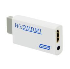 Wii HDMI adaptateur convertisseur Full HD 1080/720  Nintendo Wii et WiiU