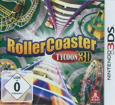 Nintendo 3DS RollerCoaster Tycoon 3D Gebraucht Neuwertig