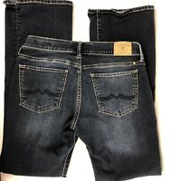 Lucky Brand Women's 2/26 Dungarees Sweet n Low Bootcut Dark Wash Jeans