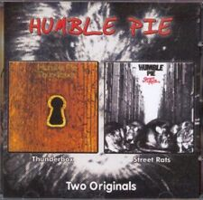 "Humble Pie:  ""Thunderbox & Street Rats""  (2on1 CD Reissue)"