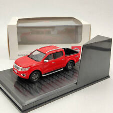 Nissan Navara 4x4 Pickup Truck Red Diecast Models Limited Collection 1:43