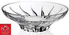 RCR TRIX CRYSTAL GLASS FRUIT BOWL componente fondamentale CIOTOLA 24.5 cm di diametro