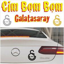 Galatasaray Autoaufkleber Sticker Ultraslan Cim bom GS Fan 10,0 x 14,0 cm
