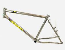 """Litespeed Obed 18"""" Titanium Mountain Bike Frame Asymmetric Chainstays"""