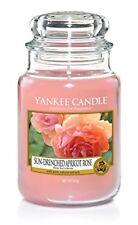 Yankee Candle Soleil Trempés Abricot Rose Grand Pot