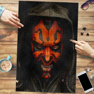 Darth Maul Portrait Star Wars Art Jigsaw Puzzle 1000 pcs