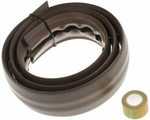 RS Pro Cable Cover, 19mm (Inside dia.), 66 mm x 1.83m, Brown