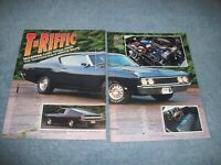 "1969 Ford Torino Talladega Vintage Info Article ""T-Riffic"""