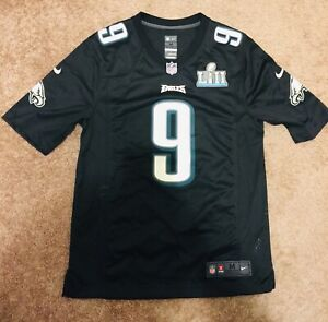 100% Authentic Nike Nick Foles Eagles Super Bowl LII 42 Game Jersey MVP w/Extras