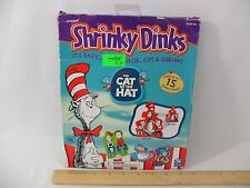 NEW! DR. SEUSS THE CAT IN THE HAT SHRINKY DINKS ACTIVITY KIT - 2003 SPIN MASTER