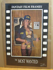 "vintage "" The Most wanted"" Poster fantasy film frames 1990 5307"