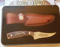 Schrade 175th Anniv. UNCLE HENRY Knife & Sheath ~ Texas Ranger TIN ~ SEALED!