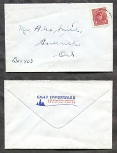 p41 - Military WW2 1943 CAMP IPPERWASH Canadian Infantry Training Centre Cover